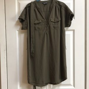 Express Military style dress